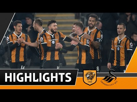 The Tigers 2 Swansea City 0 | Highlights | 07.01.17