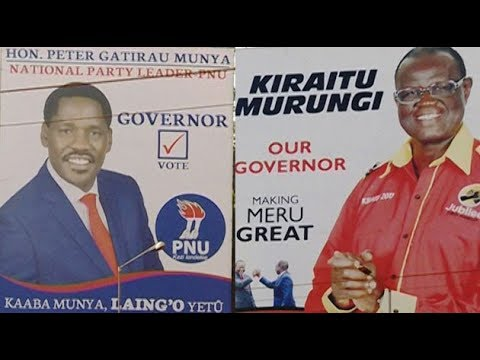 Issues likely to influence voting in Meru County