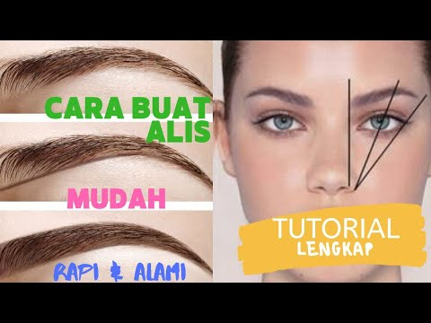 tutorial-lengkap---cukur-alis-&-membuat-alis-alami-sesuai-bentuk-wajah---the-one-eyebrow-kit