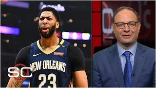 Pelicans want 4 1st rounders from the Lakers for Anthony Davis - Adrian Wojnarowski | SportsCenter thumbnail