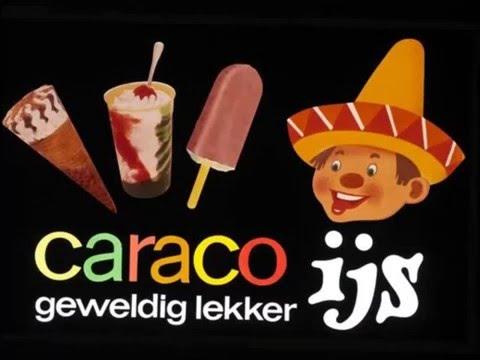 Caraco ijs reclame
