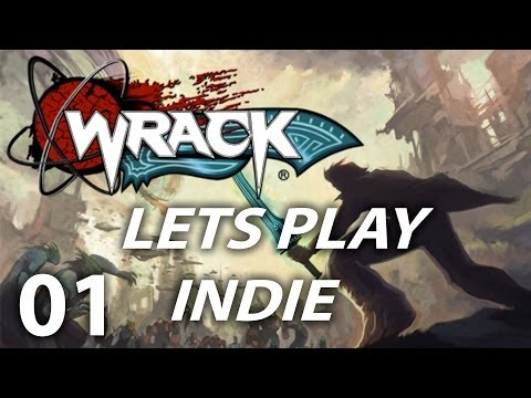 "Lets Play Indie - Wrack - #01 ""Silly Voices"""