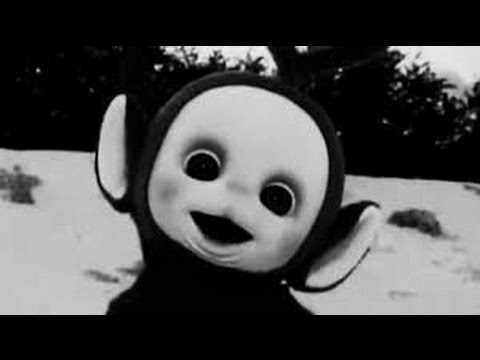 Teletubbies But In Black And White Youtube