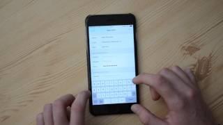MŮJ PRVNÍ iPHONE: Nastavení E-Mailu od Seznam.cz v iOS