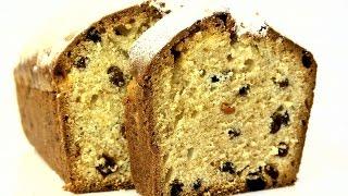 """Кекс """"Столичный"""" по ГОСТу - классическое кексовое тесто и обилие изюма. #быстро_к_чаю"""