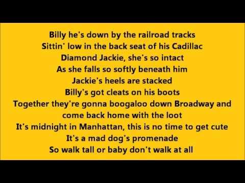 Bruce Springsteen - New York City Serenade with Lyrics