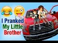 TOP PRANKS, Parents and brother prank 3 years old boy who loves F150!! Let's play kids