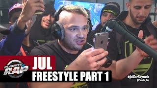 Jul en freestyle dans Planète Rap [Part 1] #Ovni
