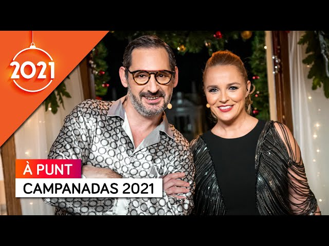 Los Estilismos de Carolina Ferre y Eugeni Alemany en las Campanadas 2021 de À Punt