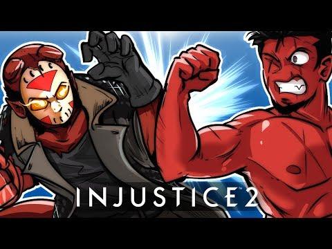 INJUSTICE 2 - HELLBOY CHARACTER DLC! Vs Cartoonz!