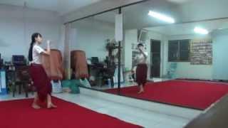 รำสี่ภาค-รำอวยพร(ภาคกลาง) - บ้านรำไทย ดอนเมือง