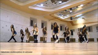 ALL FRUITS RIPE GYALS CREW | DANCEHALL CHOREO BY ARISHAAA | PUSH