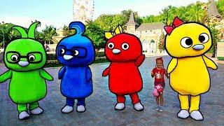 Bebe se divierten en un parque de diversiones / Mi Mi Kids play at the amusement park