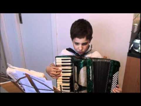 Ako hra na stnu harmoniku Blues Music