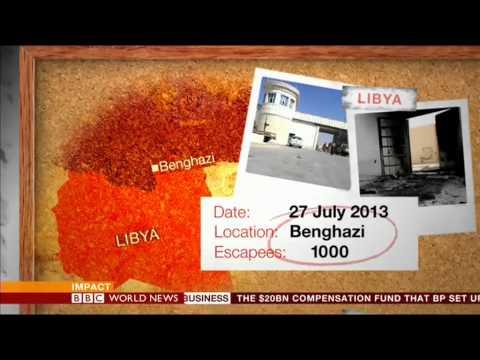 Barak Seener Interview on BBC World 'Impact' on Al Qaeda jailbreaks. July 30, 2013