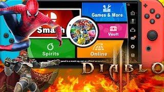 Massive News: Smash Ultimate Spirits Mode Diablo 3 Switch With Zelda Bonuses  Spiderman Train & More