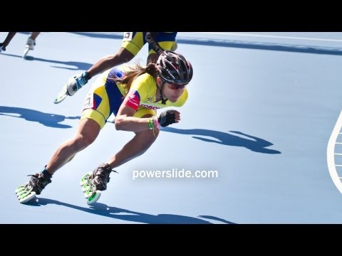 2013 Speed Skating Championships POWERSLIDE 09 - Women 500m