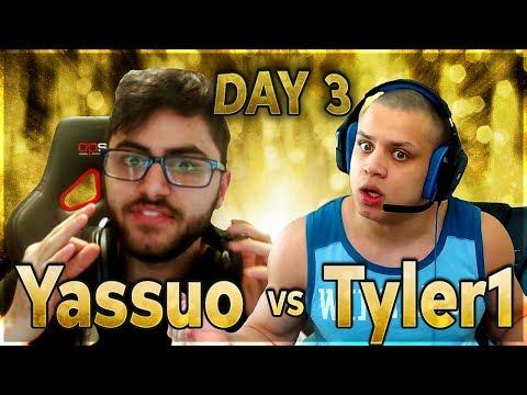 MOE QUITS? | YASSUO VS TYLER1 - $10K BET: DAY 3