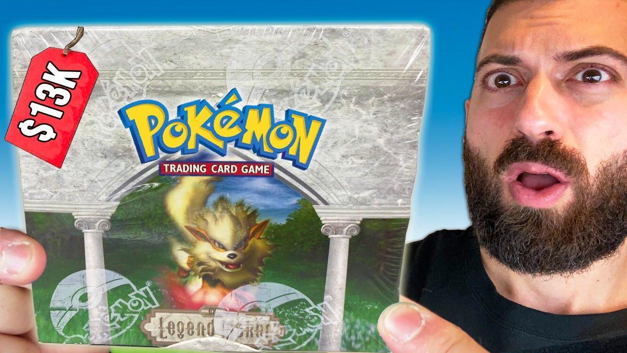 Download What's Inside a $13,000 EX Legend Maker Pokemon Cards Box?