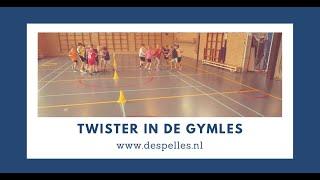 Twister in de gymles!