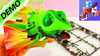 Building our own Lizard! - Toy with lots of pieces to build - Part 1 of construction (Head)