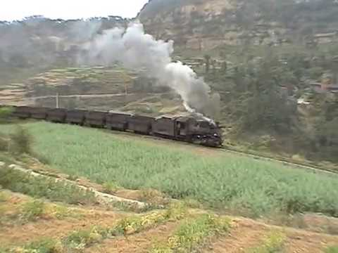 Steam in China 2007 Narrow Gauge Part 1 of 4 - Weiyuan Coal Mine Railway