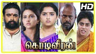 Kodi Veeran Movie Scenes | Vidharth warns his brother | Pasupathy  challenges Sasikumar | Poorna