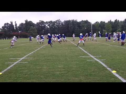 Ragsdale Tigers Football Practice on 8/8/16