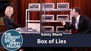 Jimmy and Emily Blunt take turns trying to stump each other about what items are hidden inside their mystery boxes. Subscribe NOW to The Tonight Show ...