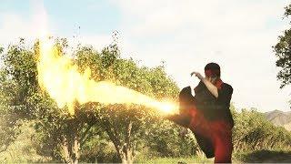 Earthbending vs Firebending (Live action)