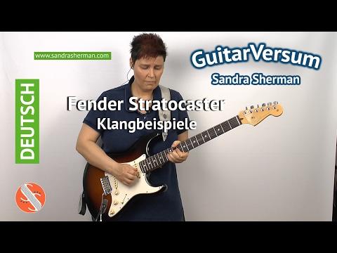 Fender Stratocaster Klangbeispiele - Fender American Standard Strat