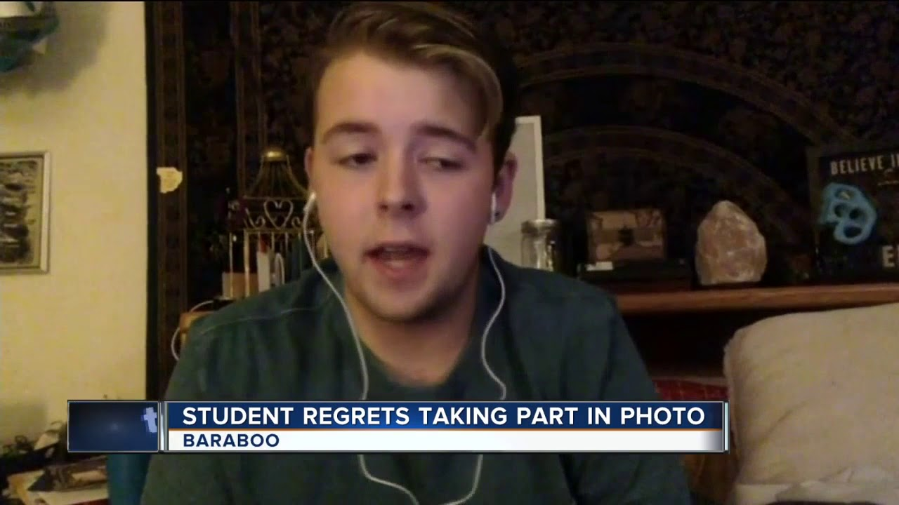 One student did not participate in Baraboo photo