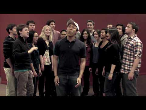 """The Dartmouth Dodecaphonics sing """"Thank You"""" to the Class of 2014"""
