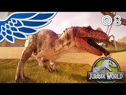JURASSIC PARK  The Raptors Are Loose Part 8  Jurassic World Evolution Lets Play Walkthrough