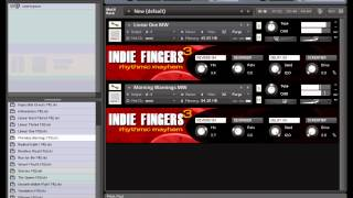 Indie Fingers Three: Rhythmic Mayhem for Native Instruments Kontakt