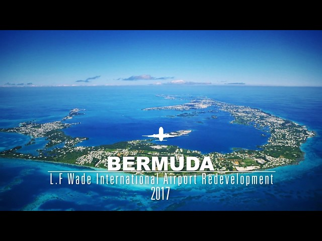 New Bermuda airport terminal fly-through