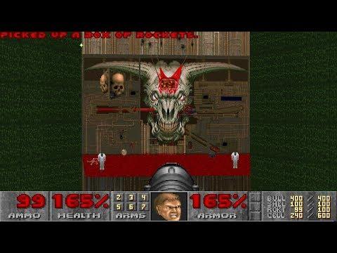 Doom II: Hell on Earth - Nightmare! difficulty in 21:14 - World Record Speedrun