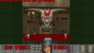 Doom II: Hell on Earth - Nightmare! difficulty in 21:14 - World Record Speedrun