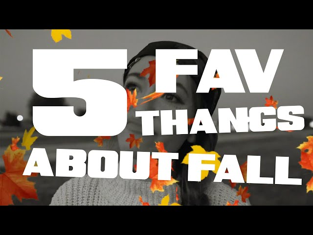 Lauren Daigle - Five Favorite Things About Fall