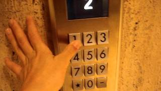 Full Ride: Schindler Miconic 10 Traction Elevators at Westin Oaks Hotel in Houston, TX.