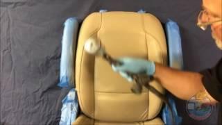 Восстановление кожаного кресла