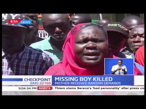 Missing 9 year old found murdered in Kakamega
