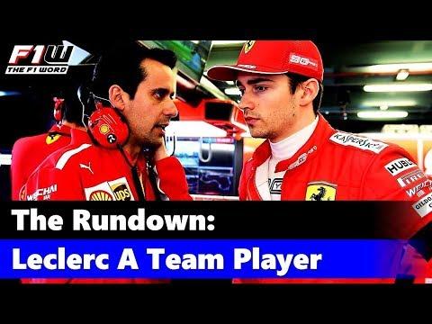 The Rundown: Leclerc A Team Player