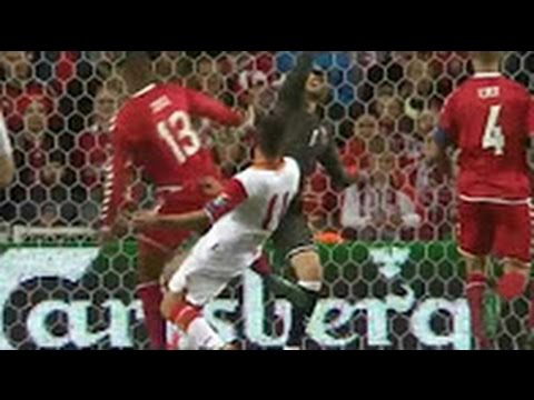 Denmark - Montenegro 0-1 Goals & Highlights 11/10/2016