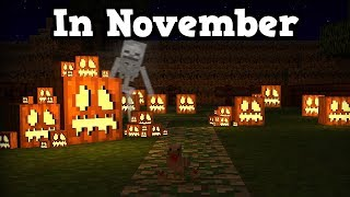 Playing Minecraft Halloween Servers But It