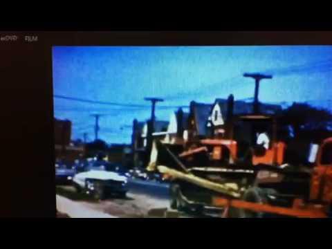 TD 18 Bulldozer, Bronx, Williamsbridge Rd, 1963