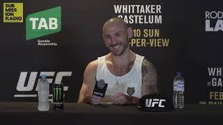 UFC 234: Lando Vannata Post-Fight Presser