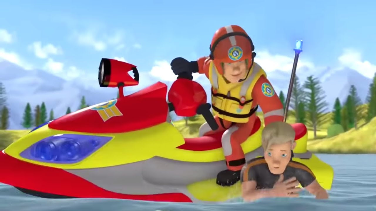 Sam le pompier en fran ais compilation sauvetage en - Dessin anime sam sam ...