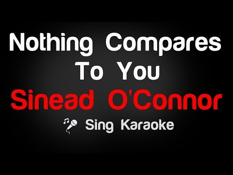 Sinead O'Connor - Nothing Compares To You (Karaoke without V