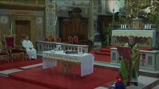 19 Novembre 2017 XXXIII Domenica Tempo Ordinario Anno A Santa Messa ore 1830 Omelia